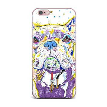 "Rebecca Fischer ""Niko"" French Bulldog iPhone Case"