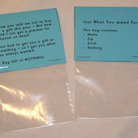 A Bag of Nothing Novelty Joke Gag Gift by PyrateWench on Etsy