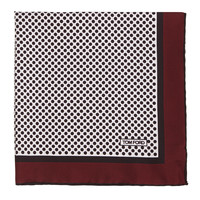 Men's Polka-Dot Silk Pocket Square, Red - Tom Ford - Red