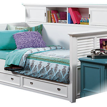 Belmar White 4 Pc Bookcase Daybed