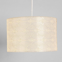 Embroidered Pendant Shade
