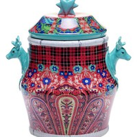 Tracy Porter For Poetic Wanderlust 'Folklore Holiday' Cookie Jar - Blue