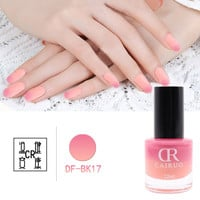 1 pcs  2016 new 15ml 20 colors CR Matte Art Beauty Nail Polish Frosted