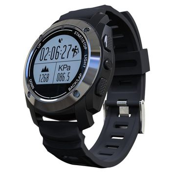 S928 GPS Outdoor Sports Smart Watch IP66 Life Waterproof with Heart Rate Monitor Pressure for Android 4.3 IOS 8.0 above