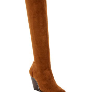 Jeffrey Campbell | Gatlin Suede Over-the-Knee Boot | Nordstrom Rack