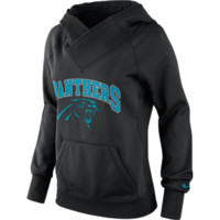 "Panthers Hoodie - Nike ""Wildcard All Time"" - Women's - Black"