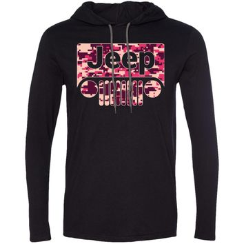 Jeep Girl T-shirt-01 987 Anvil LS T-Shirt Hoodie