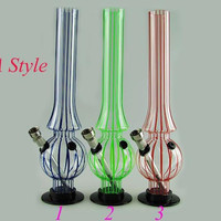 2014 Smoking Pipes Acrylic Bong Water Pipes For Smoking Acrylic Material Water Pipe Shock Resistance To Fall Off the For Tobacco and Oil Rig