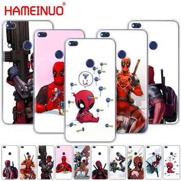 Deadpool Dead pool Taco HAMEINUO  Super Cool Marvel  Cover phone Case for huawei Ascend P7 P8 P9 P10 P20 lite plus pro G9 G8 G7 2017 AT_70_6