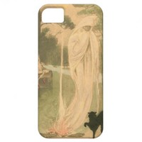 Ghost Black Cat Elves iPhone 5 Cases