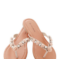 ModCloth Fairytale Shiny and You Sandal