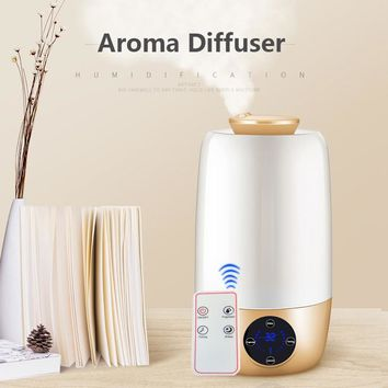 KBAYBO  Ultrasonic Aromatherapy DiffuserGrain Ultrasonic Cool Mist Humidifier for Office Home Bedroom Living Room