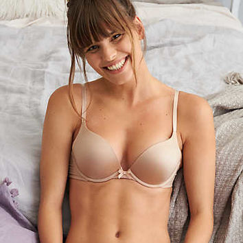 Brooke Pushup Bra, Natural Nude