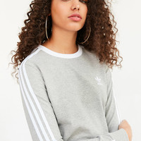 adidas Originals 3 Stripe Long-Sleeve Tee | Urban Outfitters