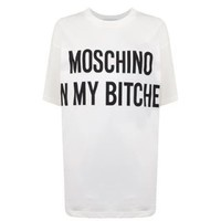 Moschino Slogan T Shirt