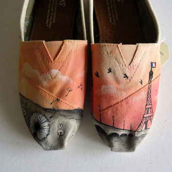 Sunset Paris Themed TOMS