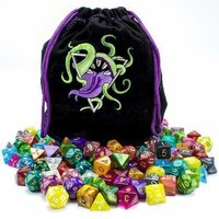 Bag of Devouring: 140 Polyhedral Dice in 20 Complete Sets