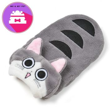 Winter Cat Clothes Comfortable Warm Fleece Pet Dog Cat Costume for Puppies Small Dogs Kitten Hoodies Pet Accessories Cat Apparel