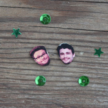Seth Rogen & James Franco Earrings