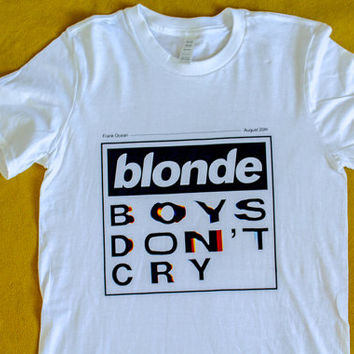 Frank Ocean Blonde Boys Don't Cry Shirt - Unisex - Tyler the Creator - Flog Gnaw