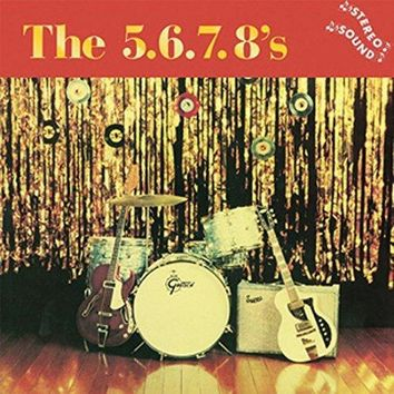 5.6.7.8's, The - The 5.6.7.8's [LP] (in gold-foil embossed tip-on jacket, no exports to Japan)