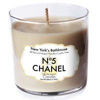 N0.5 Scented Soy Wax Candle