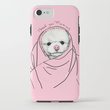 Thank You Mommy iPhone & iPod Case by Lostanaw