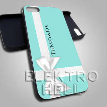 Tiffany&Co Gift Packing - iPhone 4/4s/5 Case - Samsung Galaxy S3/S4 Case - Black or White