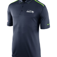 Nike Elite Coach (NFL Seahawks) Men's Polo