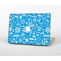 """The Blue Nautical Collage Skin Set for the Apple MacBook Air 13"""""""