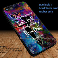 Disney Tinkerbell Quote DOP1299 iPhone 6s 6 6s+ 5c 5s Cases Samsung Galaxy s5 s6 Edge+ NOTE 5 4 3 #quote