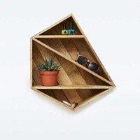 Magical Geo Wooden Shelf - Urban Outfitters