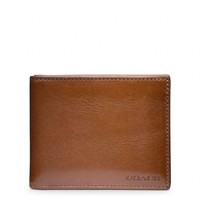 BLEECKER SLIM BILLFOLD ID WALLET IN LEATHER