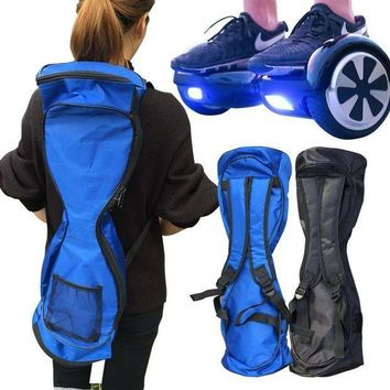 CREYONV new portable 6 5 8 10 inches hoverboard backpack shoulder carrying bag for 2 wheel electric self balance scooter travel knapsack
