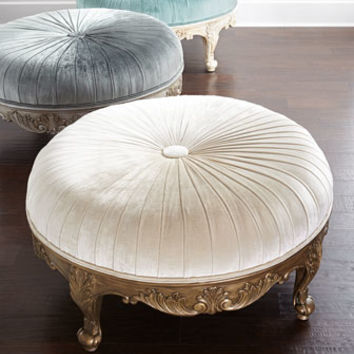 Massoud Scala Light Ottoman