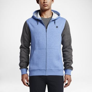 Hurley Getaway Fleece Full-Zip Men's Hoodie