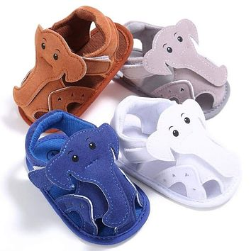 Infant Toddler Kids Baby Boys Girls Soft Sole Sandals Prewalker Crib Shoes 0-18M
