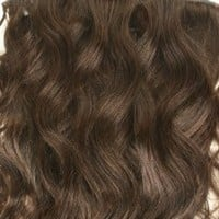 "20"" Inches Full Head Set Clip In Indian Wavy Human Hair Extensions