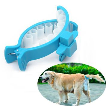 Hands free dog poop collector Portable Goods