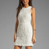 Dolce Vita Mei Scroll Lace Dress in White from REVOLVEclothing.com