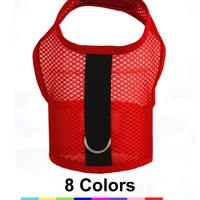 Air Mesh Dog Vest Harnesses, in 8 Colors