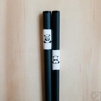 Japanese Chopsticks Sitting Panda