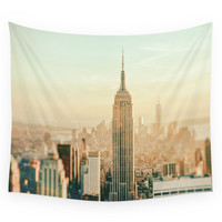 Society6 New York City Skyline Dreams Wall Tapestry