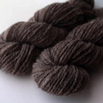 Natural Yarn Collection - Handspun Undyed Coopworth Wool Yarn