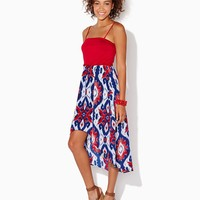 Festival Ikat High-Low Dress | Apparel | charming charlie
