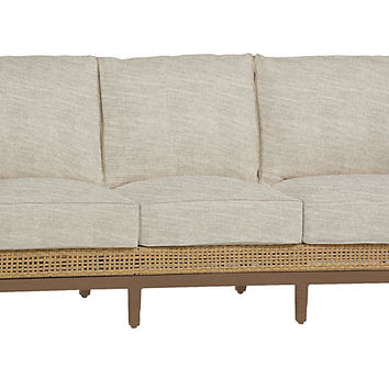 Peninsula Sofa, Dove Sunbrella - Outdoor | One Kings Lane