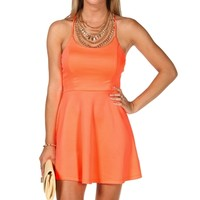 Bar Back Skater Dress