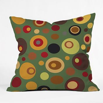 Viviana Gonzalez Vintage Colorplay 2 Throw Pillow