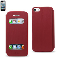 Reiko FITTING CASE WITH TPU MATERIAL IPHONE5 RED