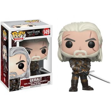 Funko Pop Games: The Witcher Geralt  149 12134